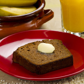 Banana Bread with Quinoa Flakes