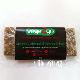 Apricot, Almond & Coconut Bar