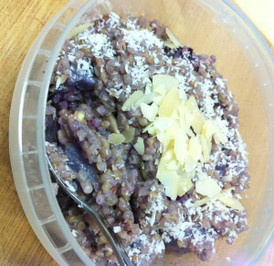 Blueberry & Pear Breakfast Quinoa