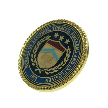 ATF Seal Logo Pin