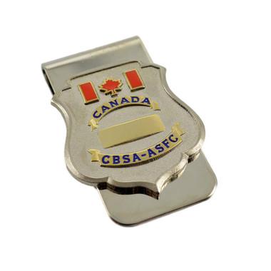 CBSA / ASFC Canada Border Services Agency Badge Money Clip