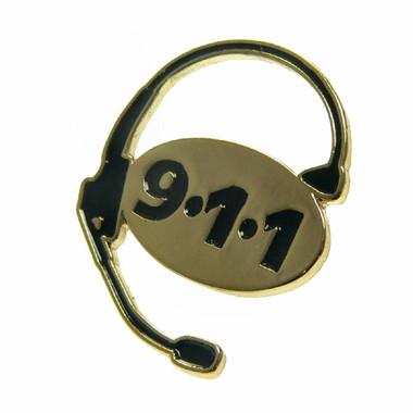 911 Emergency Dispatcher Lapel Pin Tie Tac