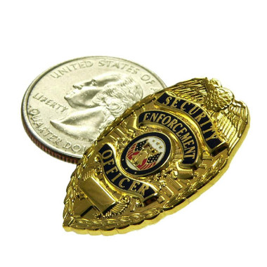 Security Enforcement Officer Mini Badge Pin