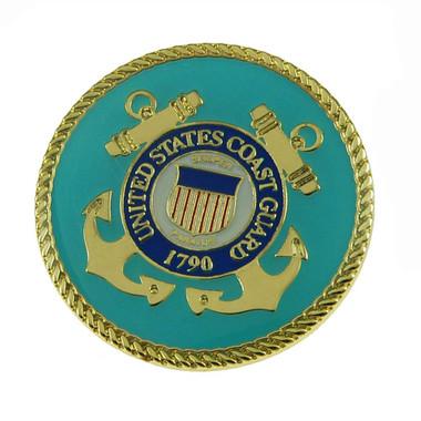 U S Coast Guard Seal Emblem Lapel Pin