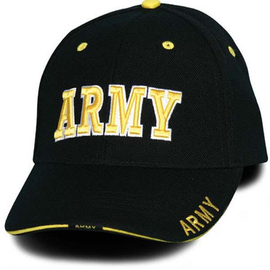 US Army Military 3D Adjustable Baseball Hat