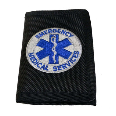 EMS Emergency Medical Services Heavy Duty Nylon Wallet