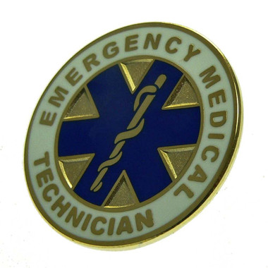Emergency Medical Technician EMT Lapel Pin