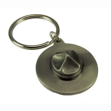 Royal Canadian Mounted Police (RCMP) 3D Stetson Hat Key Ring
