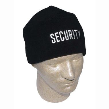 Polar Fleece Security Embroidered Watch Cap