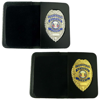 Concealed Weapons Permit Badge & Wallet
