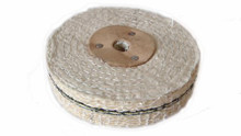 "Sisal Polishing Wheel 4"" 100mm x 2 Section"