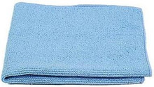 Blue Microfibre Polishing Cloth