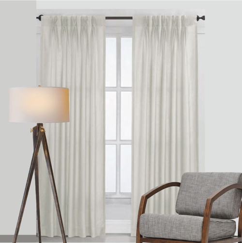 hooks rings super no clips bedroomoffice easy and on how makeover sconces inspiration hang tutorial curtains guest to bedroom office learn with drapes hanging