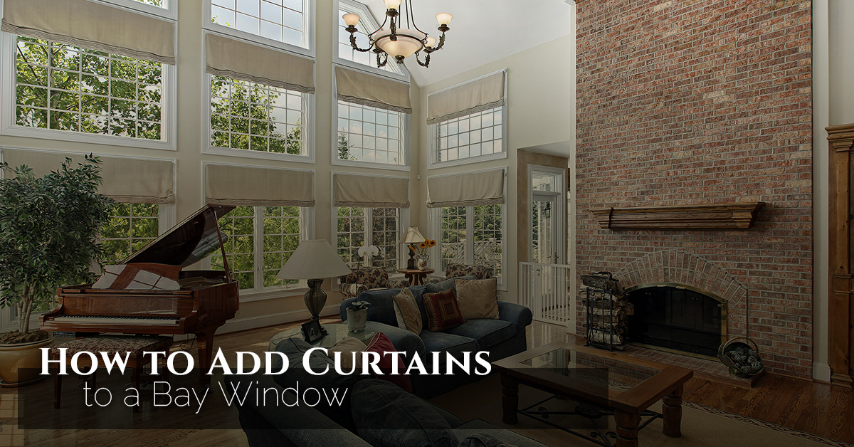 How To Add Curtains A Bay Window