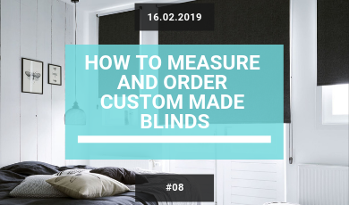 How to Measure and Order Quickfit Blinds a guide