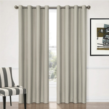 Aspen Insulated Curtains Colour Putty 4 widths Quickfit Blinds and Curtains