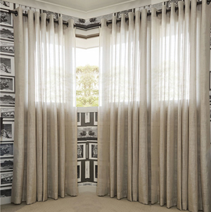 Design Your Own Curtains Online I Sheer And Two Tone Colour