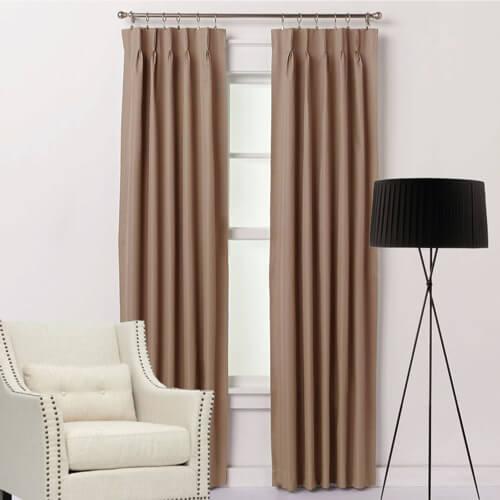 villa pinch pleat curtains quickfit curtains