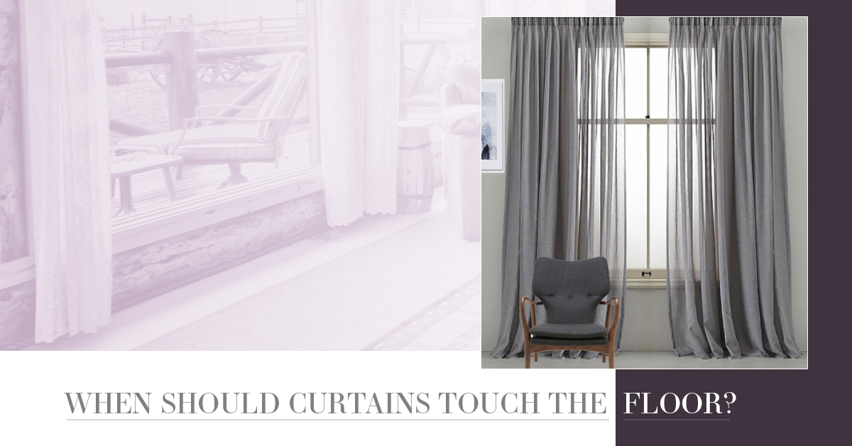 When Should Curtains Touch The Floor Quickfit Blinds And Curtains