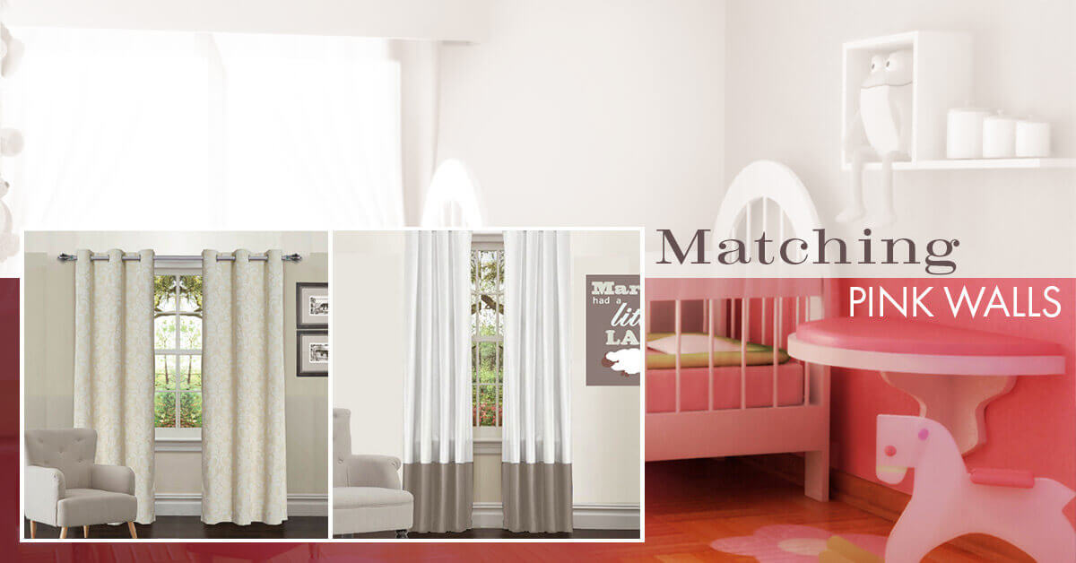 Which Colour Curtains For Pink Walls