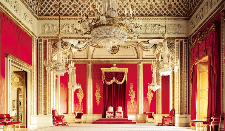 The Curtains Of Buckingham Palace