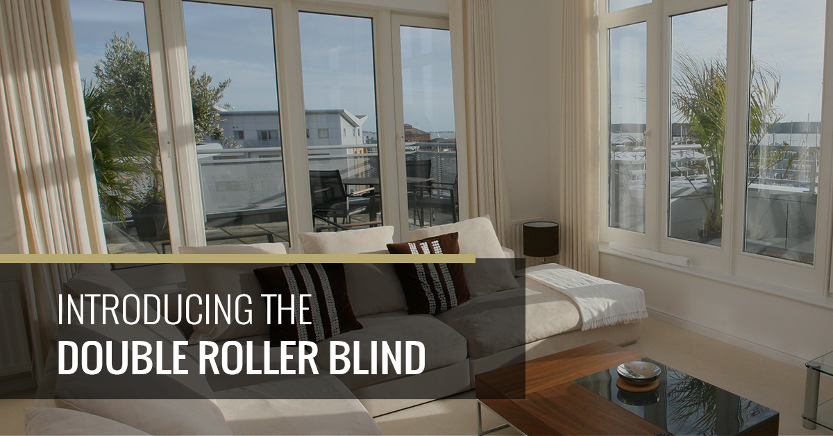 Introducing The Double Roller Blind Quickfit Blinds And