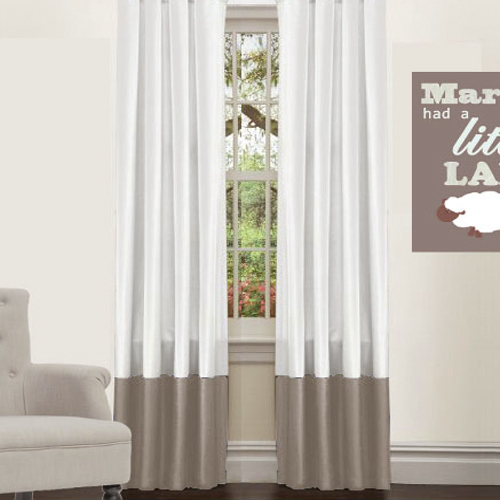 Our Favourite Nursery Curtain Is The Blockout Custom Made Two Colour Panel By Westwood Right Now It Sells For 105 Per Please Do Not Get Sticker