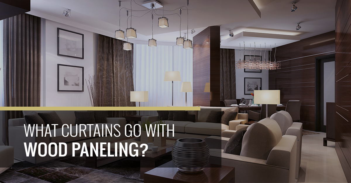 What Curtains Go With Wood Paneling Quickfit Blinds And Curtains