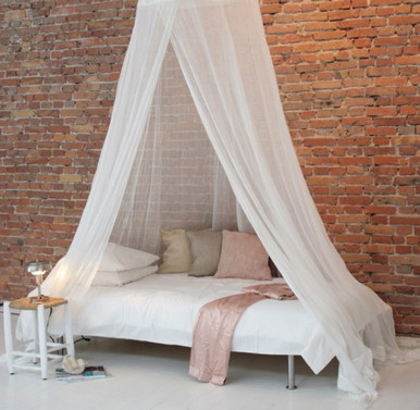 Siam Mosquito Bed Net Canopy White Quickfit Blinds And