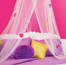 DAISY mosquito bed/net canopy PASTEL PINK