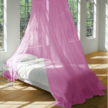 Mosquito Net Bed Canopy PINK