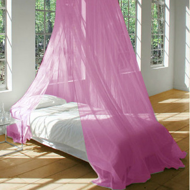 Mosquito Net Bed Canopy PINK & CHEAP MOSQUITO BED NET CANOPY | QUICKFIT CURTAINS