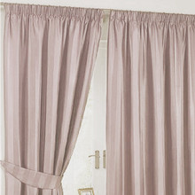 BASS PENCIL PLEAT CURTAINS LATTE | Sold Out