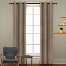 Bulk Pack 8 X Sailtop Linen Look Blockout Eyelet Curtains Latte | Sold Out!