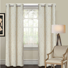 Jacquard Blockout Eyelet Curtain | Sold Out