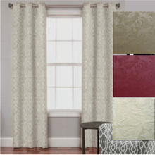 Surrey Hills Jacquard Eyelet Blockout Curtain
