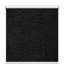 Texture Blockout Roller Blind Black