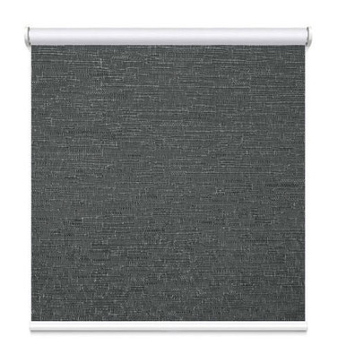 Texture Blockout Roller Blind Charcoal