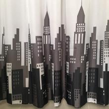 City Buildings Shower Curtain
