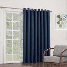 BOND Room Darkening Soft Drape Eyelet Curtain Panel NAVY   New!  4 Sizes!