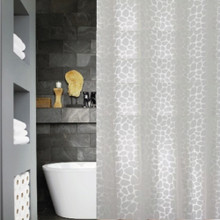 Simplicity White Shower Curtain | New