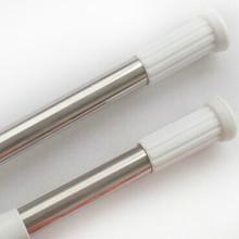 Shower Curtain Rod Pole Extendible 70cm to 120cm Chrome I More Colours