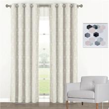 Florentino Blockout Eyelet Curtain Panels Ecru