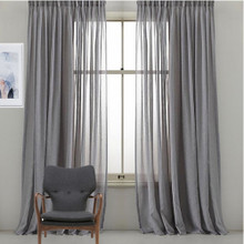 Bristol Sheer Custom Made Curtains GREY | Designer Pick