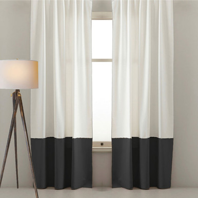Black And White Curtains I Two Colour Curtains Quickfit