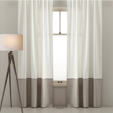 Natural Curtains I Two Colour Curtains Quickfit Curtains