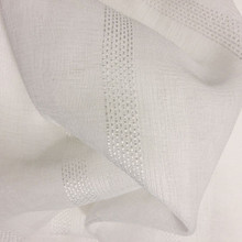 WALDORF SHEER FABRIC WHITE | Designer Pick