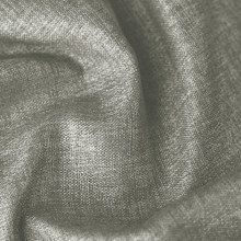 Denver: Granite Soft drape Two Coloured Linen Look Blockout Curtain Fabric