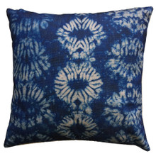 Shibori Indigo Knot Cushion Cover 45cm x 45cm | Sold Out!