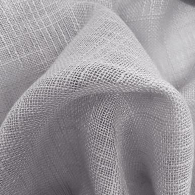 HOMESPUN Linen Look Fabric Swatch GREY